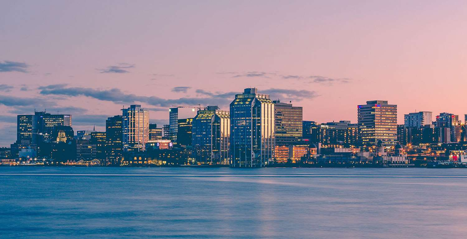 halifax evening skyline 1500