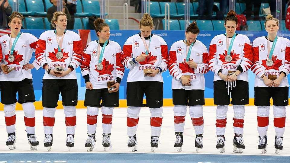 Olympic Winter Games Womens Hockey Canadas