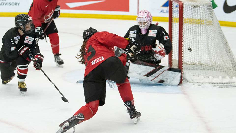 Rosters named for Canada's National Women's Development Team