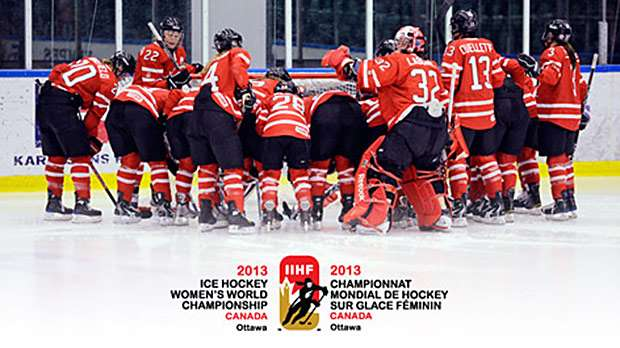 Canada S National Women S Team Roster Announced For 2013 Iihf Ice