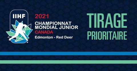 Championnat mondial junior 2021 - Tirage prioritaire
