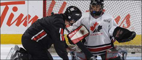 Teaching A Beginner Goaltender
