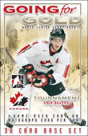 Going For Gold World Junior Championship Hockey Cards